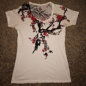 Hometown Heroes tree t-shirt - Size Small